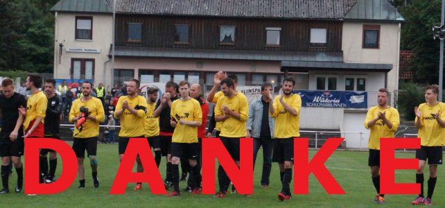Herren1: Relegation: TSV Talheim – TGV Dürrenzimmern 0:2: D A N K E für eine grandiose Saison