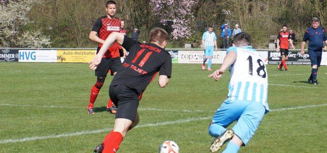 Herren1: 19. Spieltag: TSV Talheim – Blau/Weiß Heilbronn 6:1: TSV mit Leistungssteigerung im zweiten Durchgang