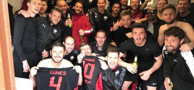 Herren1: 21. Spieltag: TSV Talheim – TV Flein 4:0: Souveräner Derbysieg gegen den TV Flein